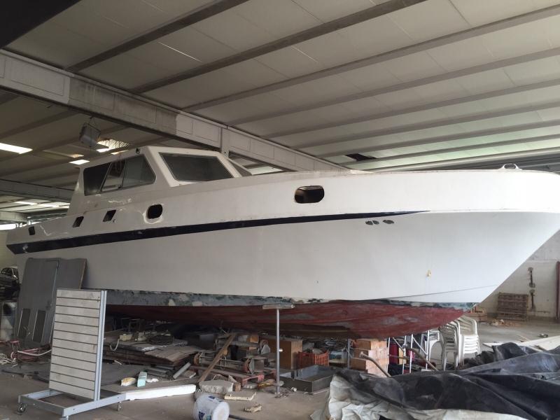 Imbarcazione in ristrutturazione